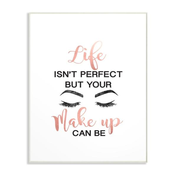 """The Stupell Home Decor Collection 10 in. x 15 in. """"Perfect Make Up ."""
