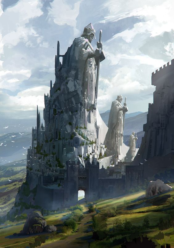 67 Fantasy and Medieval Buildings, Cities & Castles Concept Art to .