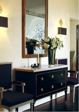Marble Top Chest - French - entrance/foyer - Nathan Egan | Home .