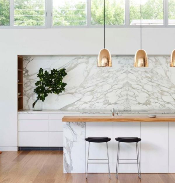 Marble Accents: Latest Trend in Interior Design | Kitchen marble .