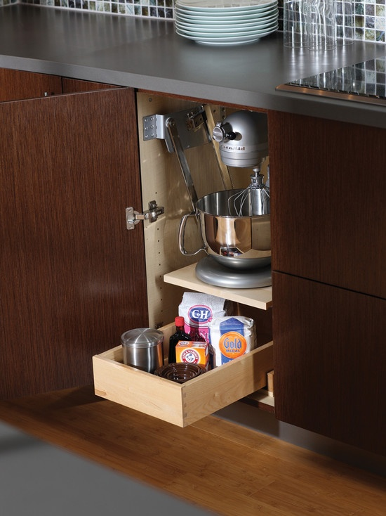 20 Home Mixer Stations That Make Cooking Comfier - DigsDi