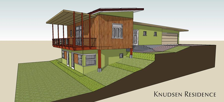homes on a sloped site - Google Search | Monitor barn, Building, Ho