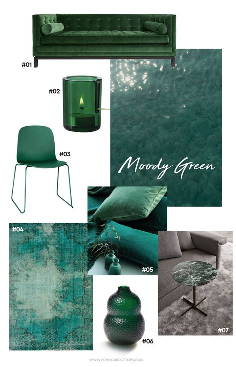 Color Coded: Dark Green moody hues in Malaysia   Green colour .