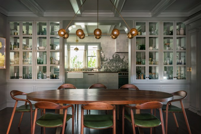 """Jessica Helgerson uses """"moody, green, lush"""" palette for Portland ."""