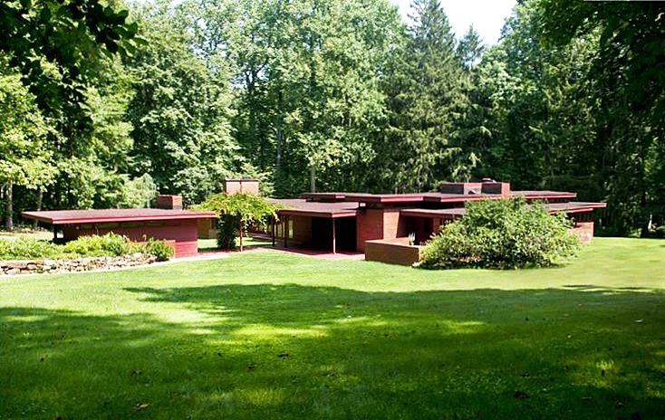 New Jersey's Oldest and Largest Frank Lloyd Wright House Listed .