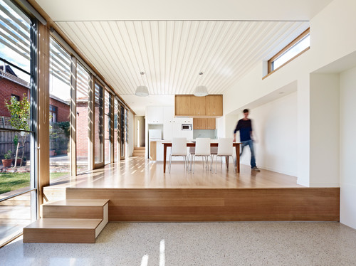 Using Different Levels to Break Up Your House Design - e-archite