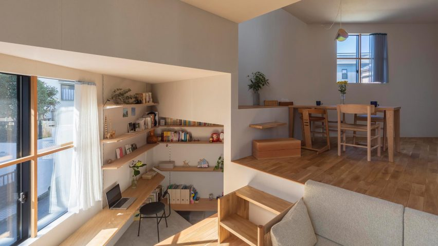 House in Takatsuki by Tato Architects has 16 different floor leve