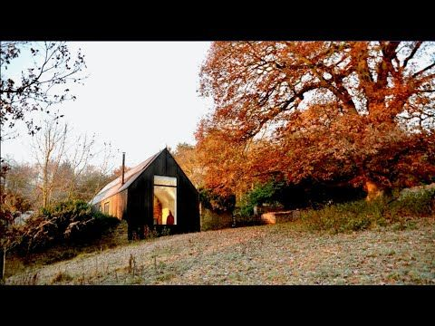 18th century cabin inside new home embraces time layers - YouTube .