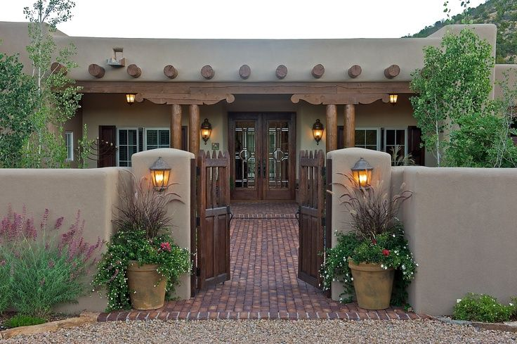 The land surrounding Santa Fe is among the most beautiful in the .