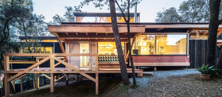 BOSC HOUSE Preserving The Existing Topography - DigsDi