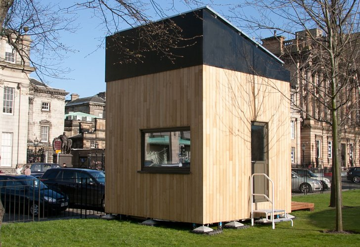 London's 3 Meter Micro Cube House Produces More Energy than it .