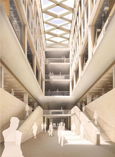 First look: AHMM's temporary Commons chamber | News | Building Desi