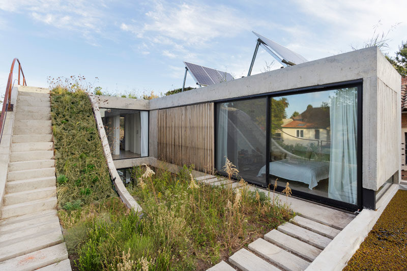 The MeMo House Has A Garden That Travels Over Three Leve