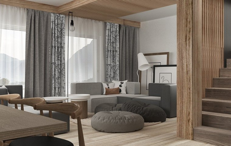House with simple decor and neutral color palette — MyDec
