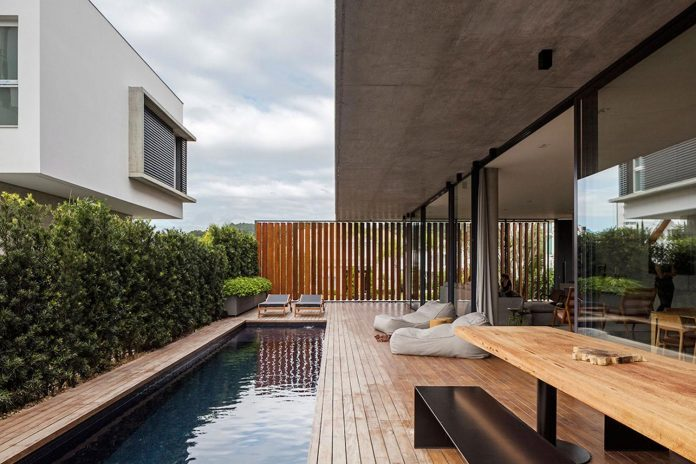 Bravos House design creates a simple color palette with a strong .
