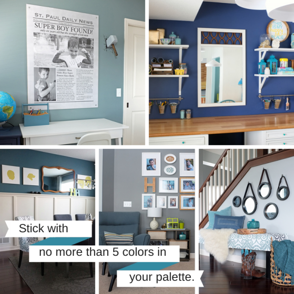 7 Steps to Create Your Whole House Color Palette   Teal & Li