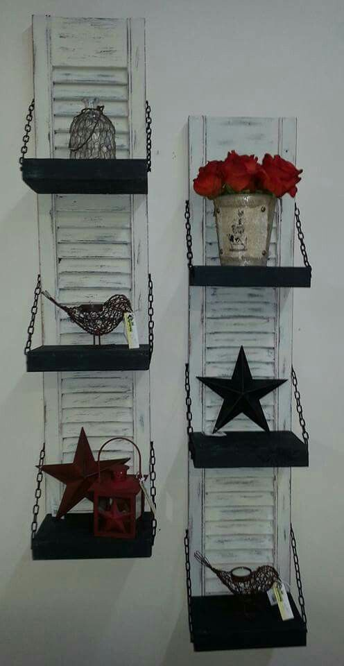 12 Ways With Which You Can Reuse Old Shutters | Diy shutters .