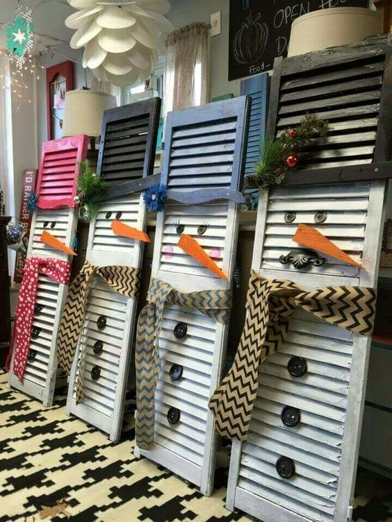 10 Ways You've Never Thought To Reuse Old Shutters - DIY Ze