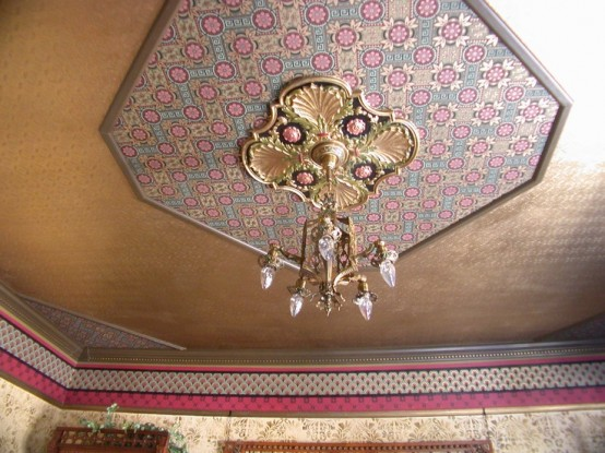 How To Create A Vintage Ceiling: 3 Ways And 20 Ideas | Gold .