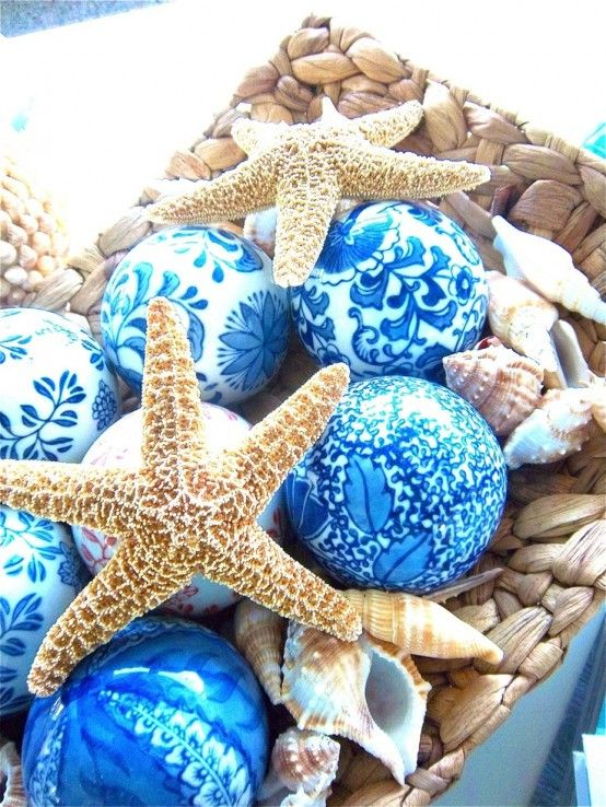 How To Decorate With Sea Stars: 34 Examples | Sea shell decor .