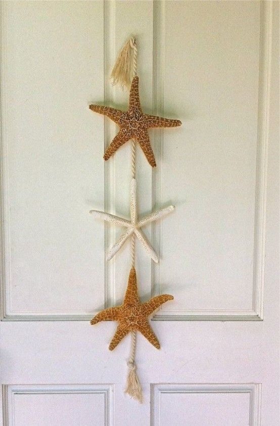 How To Decorate With Sea Stars: 34 Examples | Beach house decor .