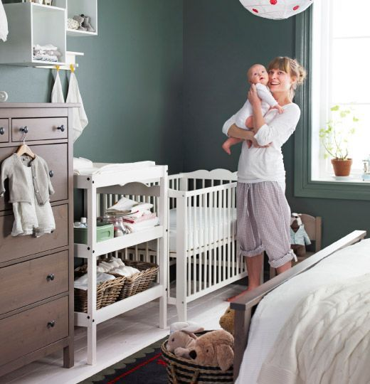 Sharing Bedroom With Baby - Decor Ideas and Inspiration   Ikea .