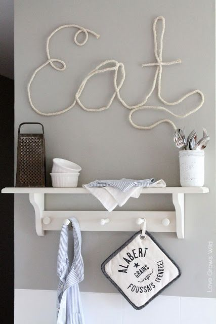 How To Incorporate Rope Into Home Décor: 34 Ideas - DigsDi