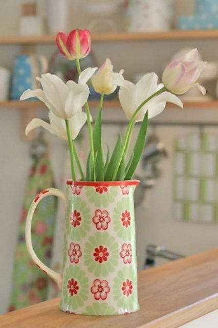 How To Incorporate Tulips Into Your Spring Decor Ideas | Тюльпаны .