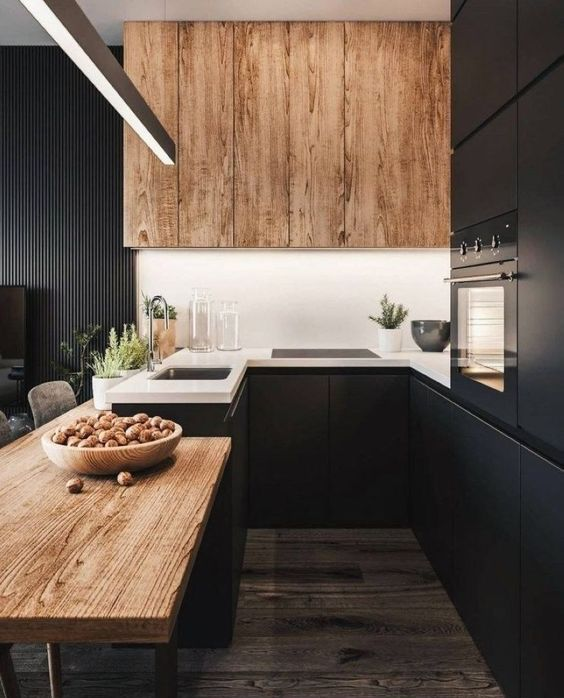 25 Ways To Refresh A Black Kitchen With Style - DigsDi