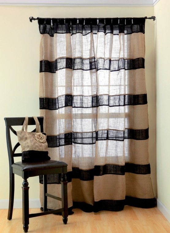 How To Rock Burlap In Home Décor: 27 Ideas - DigsDi