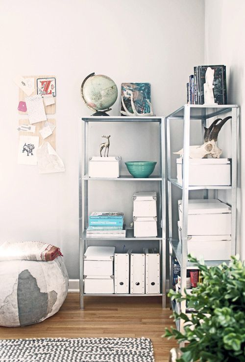 How To Rock IKEA Hyllis Shelves In Your Interior: 40 Ideas .