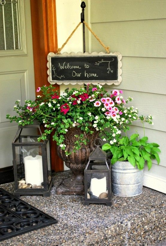 How to Spruce Up Your Porch For Spring: 58 Ideas | Front porch .