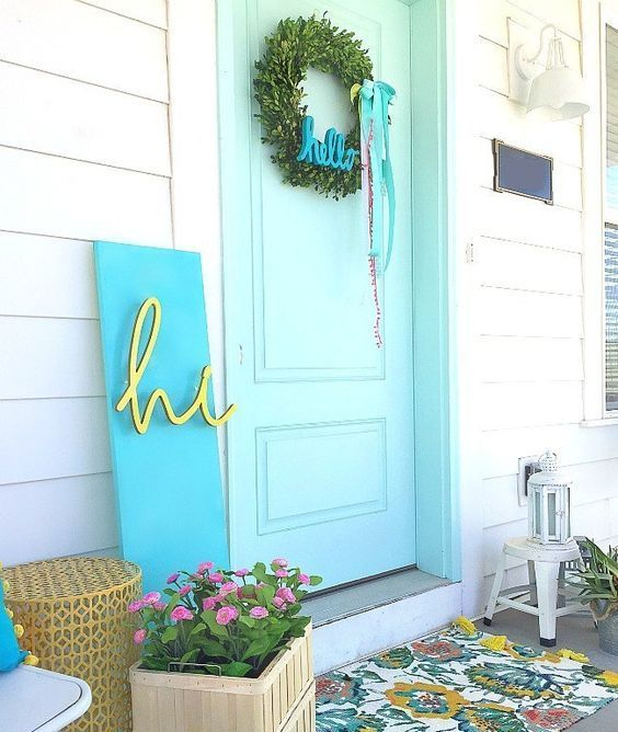 How to Spruce Up Your Porch For Spring: 58 Ideas in 2020 | Spring .