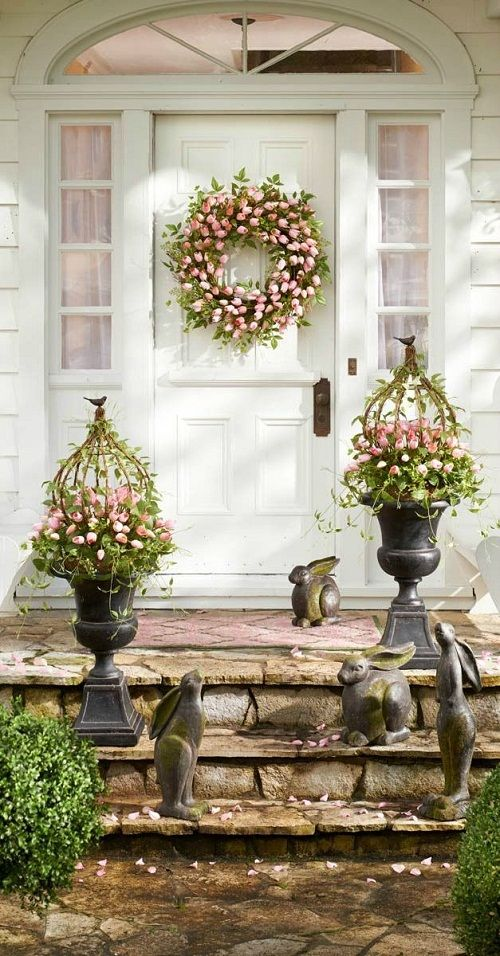 Easter Decorating Ideas for Your Outdoor Space | Spring easter .