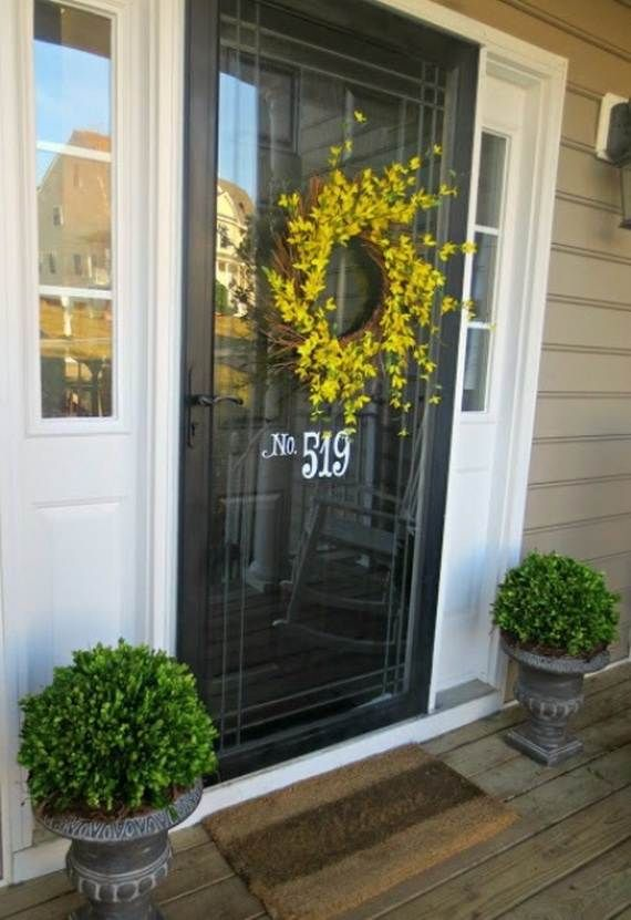 Awesome Spring And Easter Ideas to Spruce Up Your Porch are ideas .