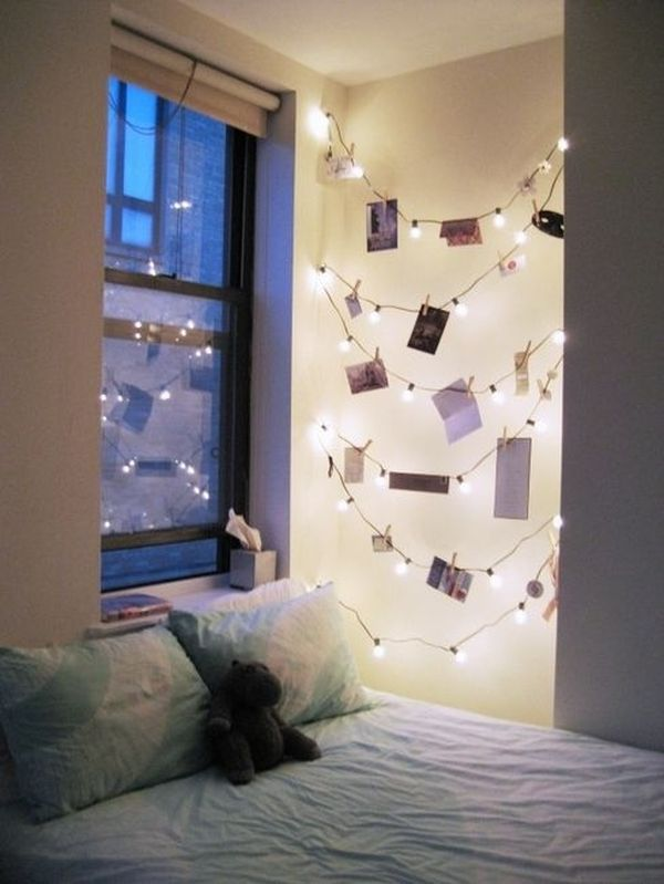How You Can Use String Lights To Make Your Bedroom Look Drea