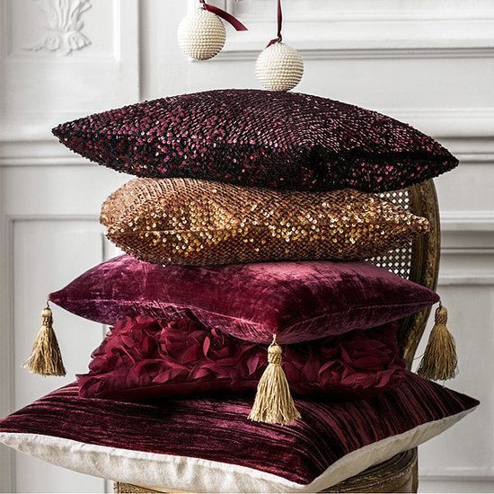 26 Ideas To Accentuate Your Living Room With Marsala   Украшение .