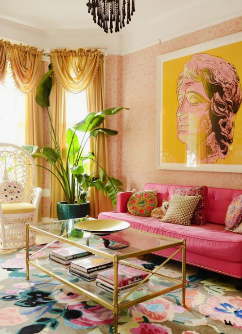 25 Stylish Ideas To Pull Off Color In Your Space | Διακόσμηση .