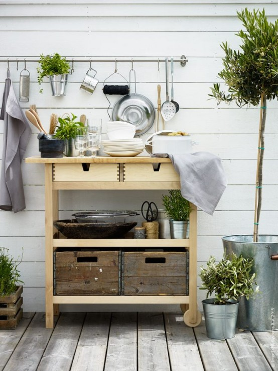 Ikea Forhoja Cart Ideas For Every Home | Ikea outdoor, Kitchen .