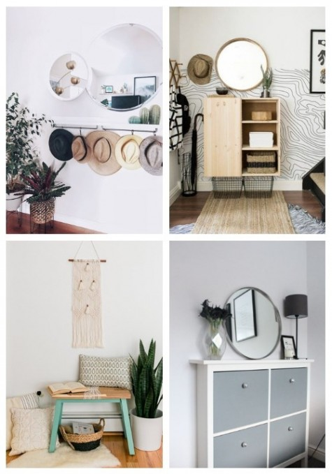 32 Cool IKEA Hacks For Your Entryway | ComfyDwelling.c
