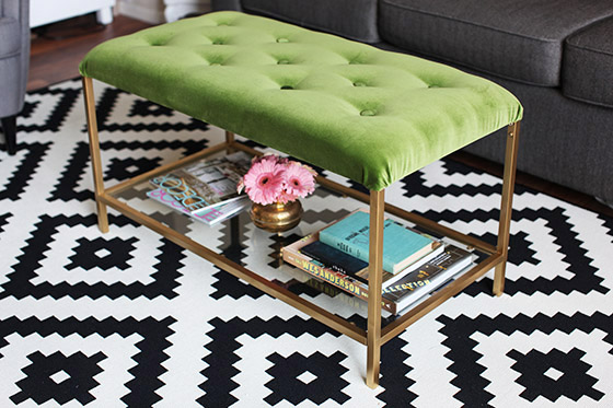 9 Easy And Cool DIY IKEA Ottoman And Pouf Hacks - Shelterne