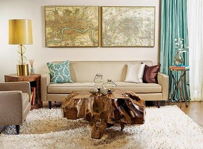Would like to incorporate maps/travel into my new living room .