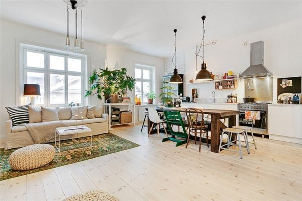 This up to date and refreshingly quaint Stockholm condominium is a .