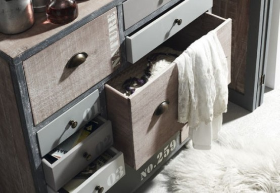 Industrial Erutna Collection - Furniture With Vintage Charm - DigsDi