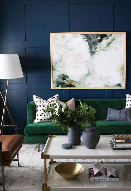 17 Rooms with Dark and Moody Color Schem