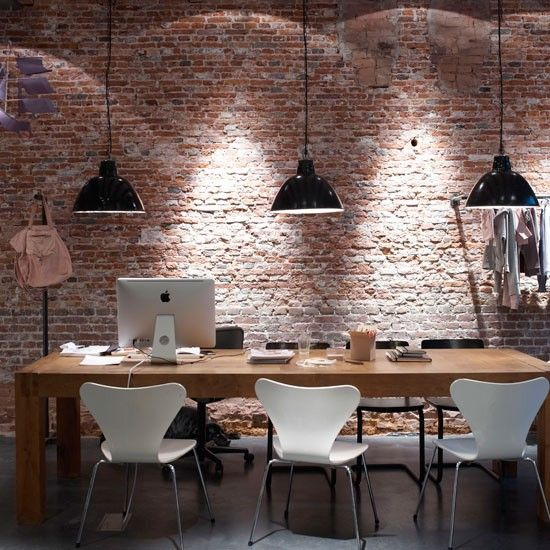 26 Industrial Home Offices That Blow Your Mind   Industrial home .