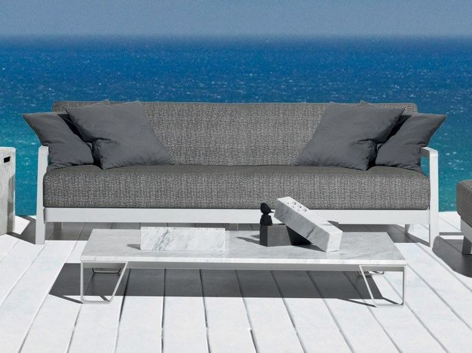 INOUT 955   Marble coffee table Gervasoni Outdoor Collection By .