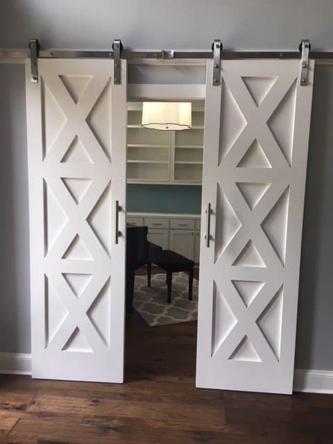 55 Incredible Barn Door Ideas: NOT Just For Farmhouse Style .