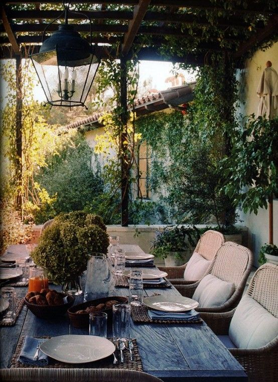 34 Inviting Outdoor Dining Spaces In Various Styles   Outdoor .