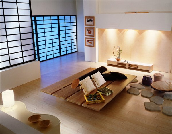 20 Japanese Home Decoration in the Living Room | Home Design Lov